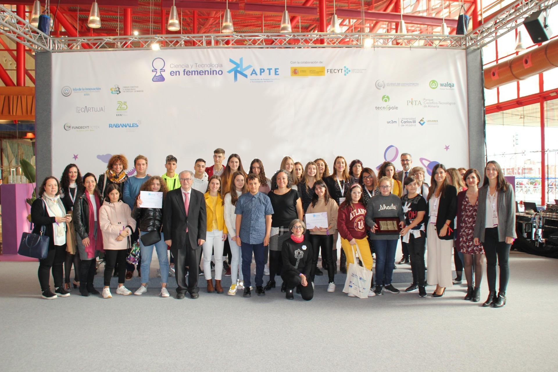APTE clausura con éxito la 2º edición de Ciencia y Tecnología en femenino con una gran participación